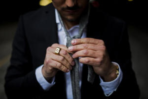 Guy with Masonic ringPhoto by Andrew Worley on Unsplash, editing by Matt Johnson