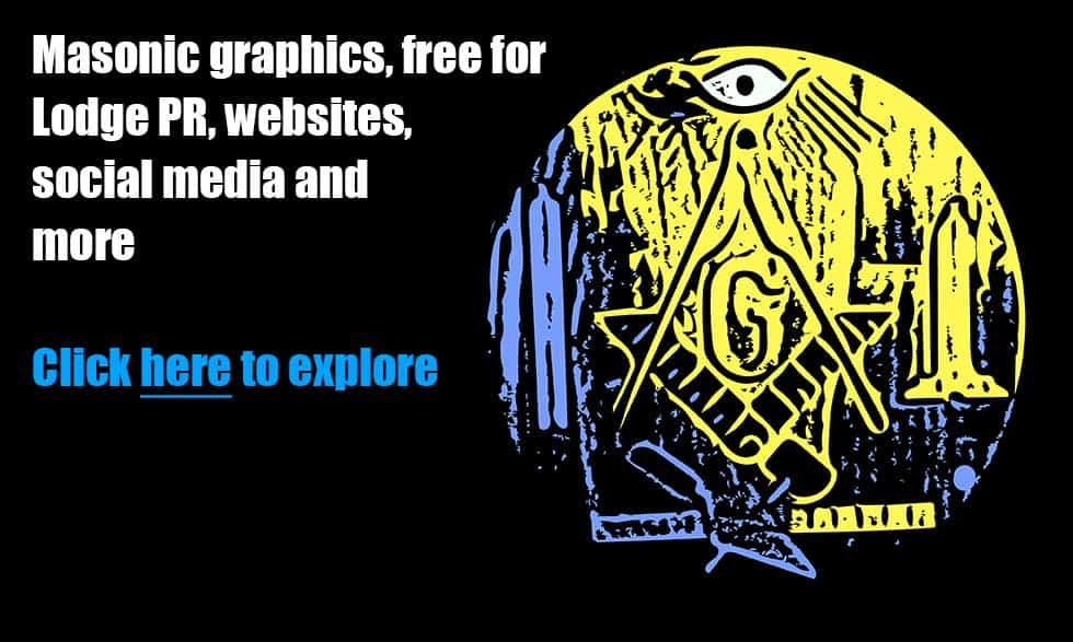 Masonic graphics, free for Lodge PR, websites, social media and more
